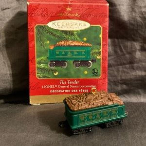 Hallmark Ornament Tender Lionel Steam Locomotive
